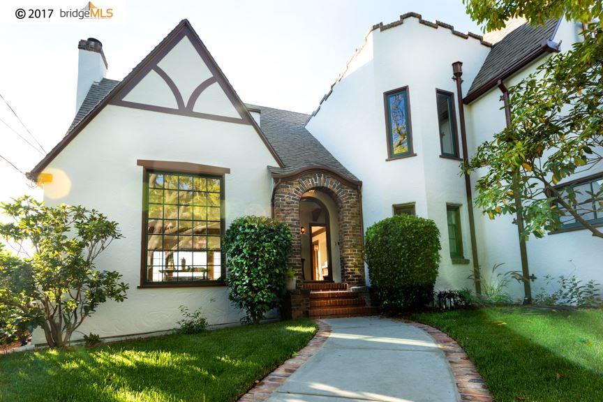 獨棟家庭住宅 為 出售 在 270 Amherst Avenue 270 Amherst Avenue Kensington, 加利福尼亞州 94708 美國