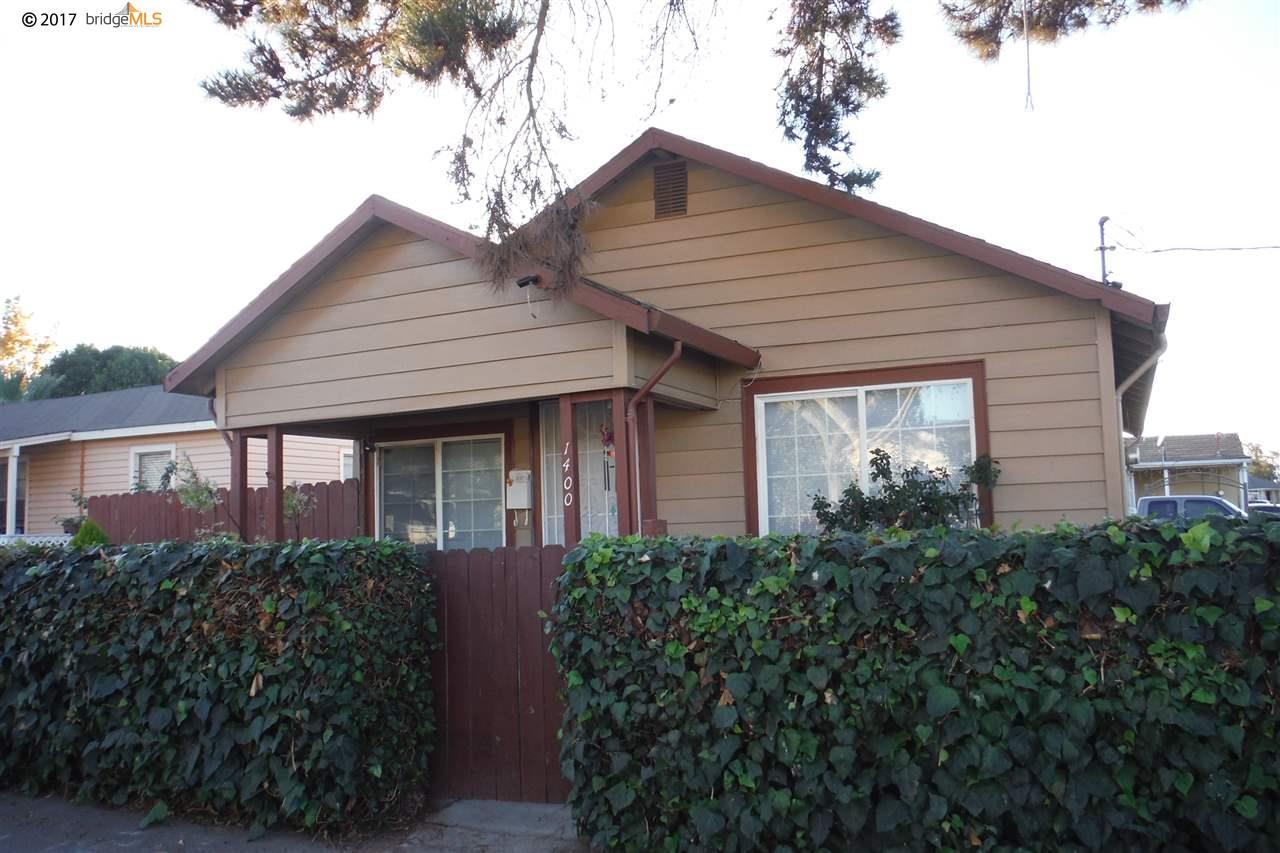 Многосемейный дом для того Продажа на 1400 G Street 1400 G Street Antioch, Калифорния 94509 Соединенные Штаты