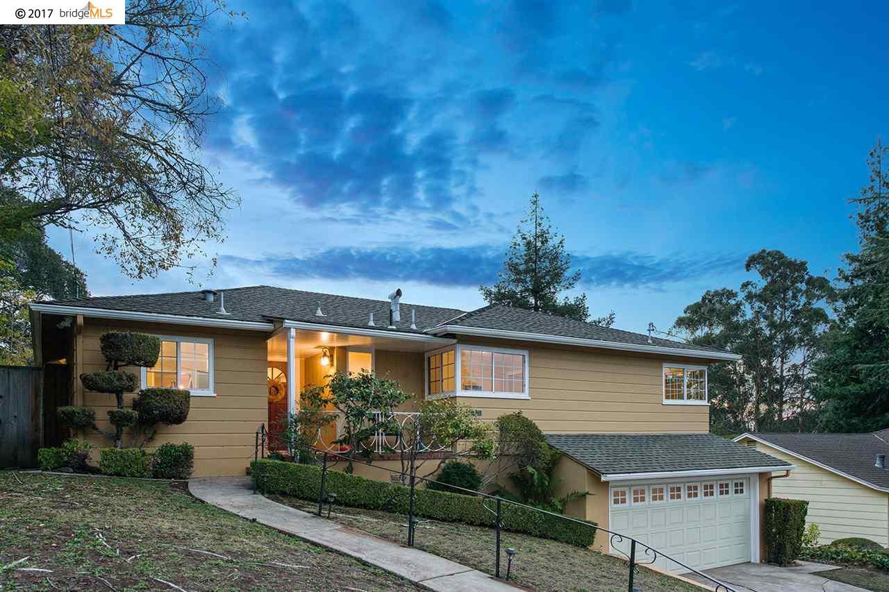 Einfamilienhaus für Verkauf beim 4610 Stauffer Place 4610 Stauffer Place Oakland, Kalifornien 94619 Vereinigte Staaten