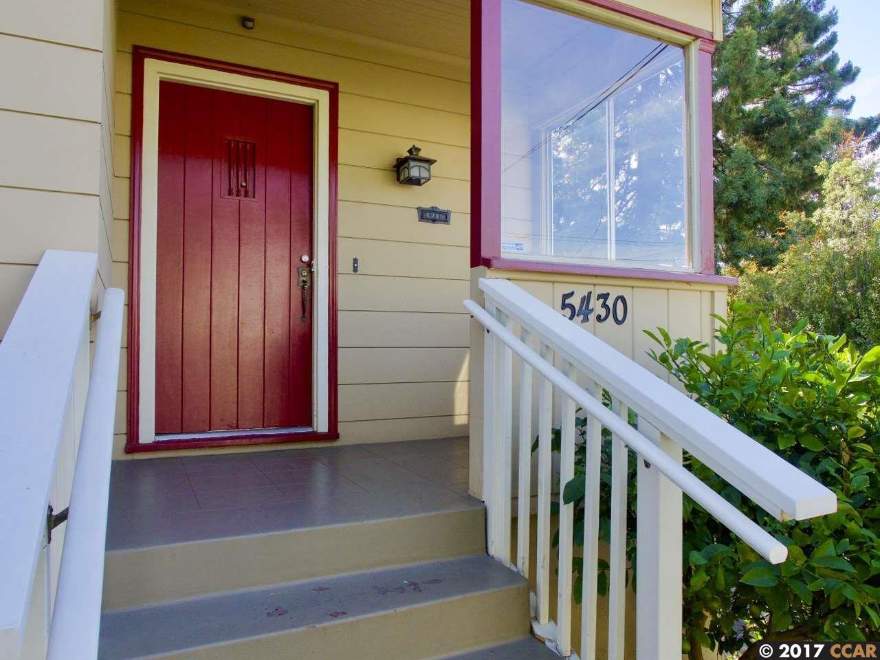 واحد منزل الأسرة للـ Rent في 5430 Zara 5430 Zara El Cerrito, California 94530 United States