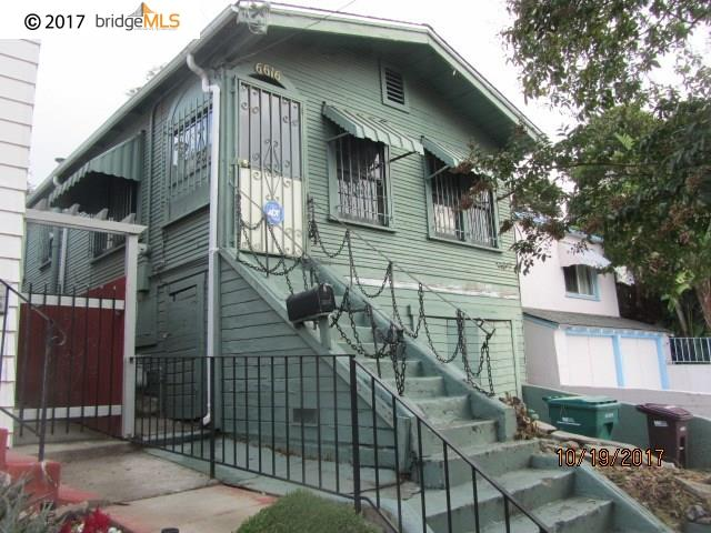 Single Family Home for Sale at 6616 Brann Street 6616 Brann Street Oakland, California 94605 United States