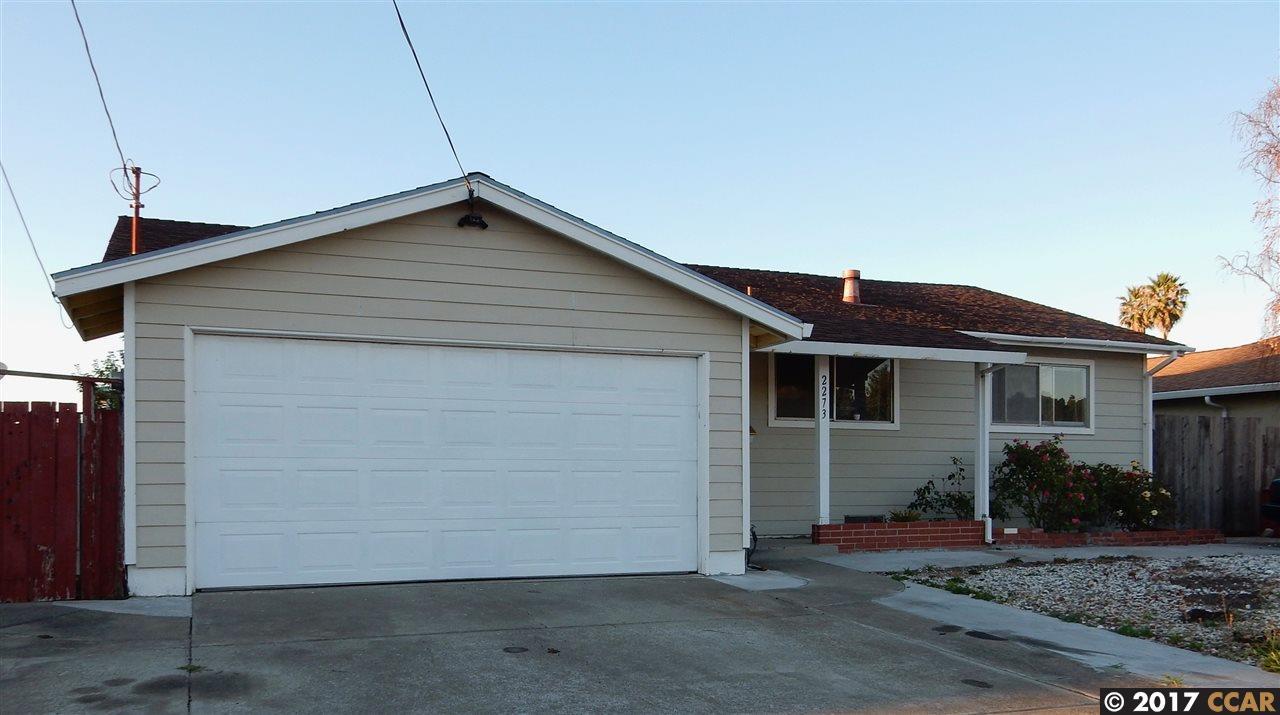 一戸建て のために 売買 アット 2273 Del Monte Drive 2273 Del Monte Drive San Pablo, カリフォルニア 94806 アメリカ合衆国
