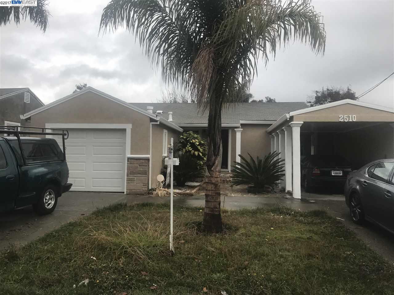واحد منزل الأسرة للـ Sale في 2510 Macarthur Avenue 2510 Macarthur Avenue San Pablo, California 94806 United States