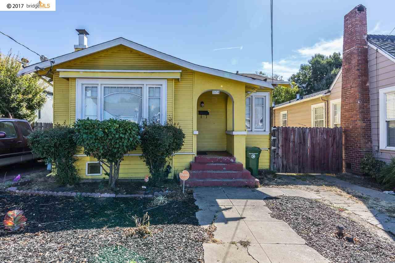 واحد منزل الأسرة للـ Sale في 2538 83Rd Avenue 2538 83Rd Avenue Oakland, California 94605 United States