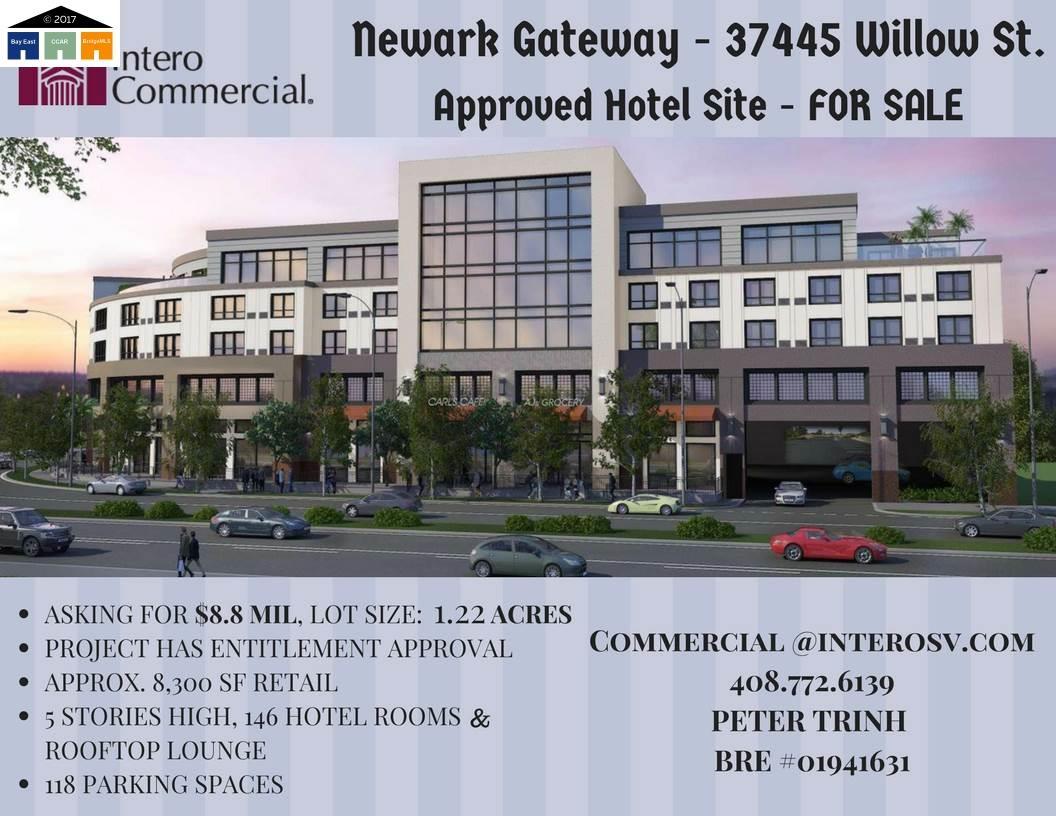 Земля для того Продажа на 37445 Willow Street 37445 Willow Street Newark, Калифорния 94560 Соединенные Штаты