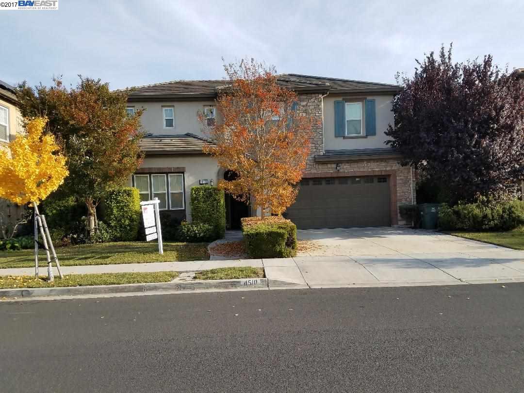 Single Family Home for Sale at 4510 Arce 4510 Arce Union City, California 94587 United States