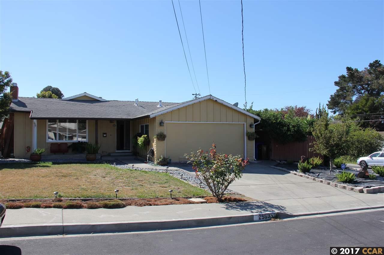 واحد منزل الأسرة للـ Sale في 2583 Shamrock Drive 2583 Shamrock Drive San Pablo, California 94806 United States