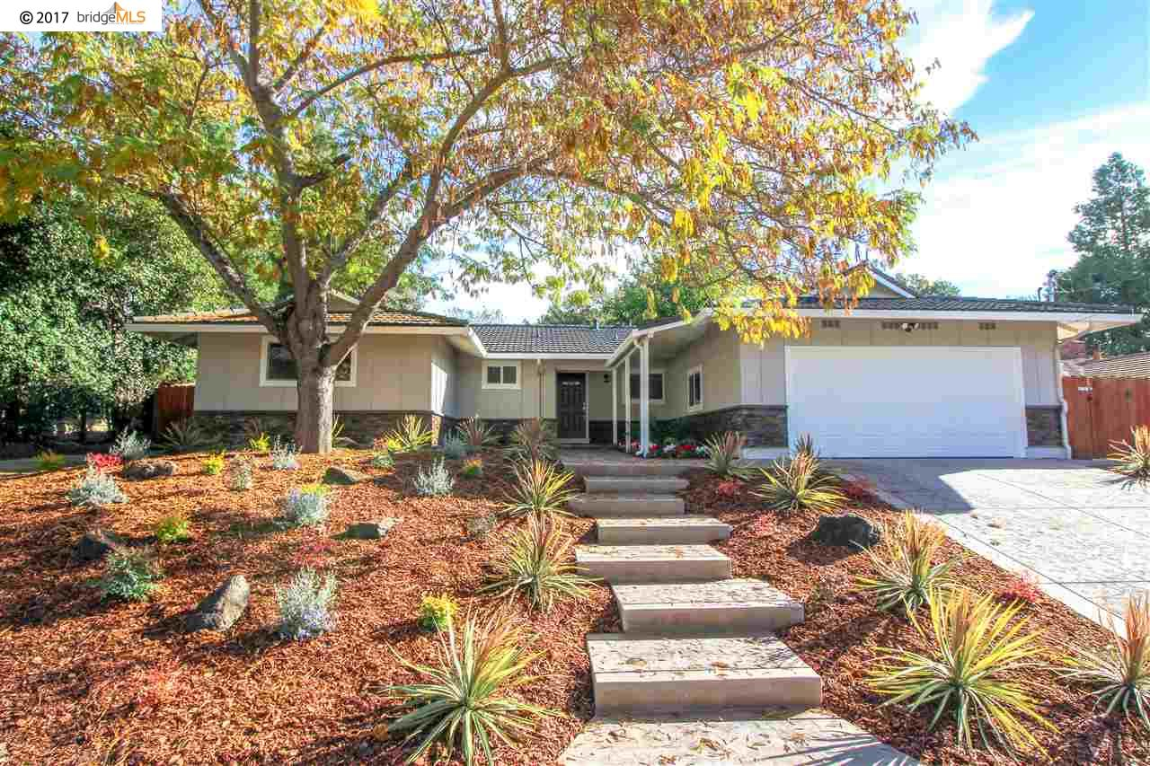 Single Family Home for Sale at 217 Twinview Drive 217 Twinview Drive Pleasant Hill, California 94523 United States
