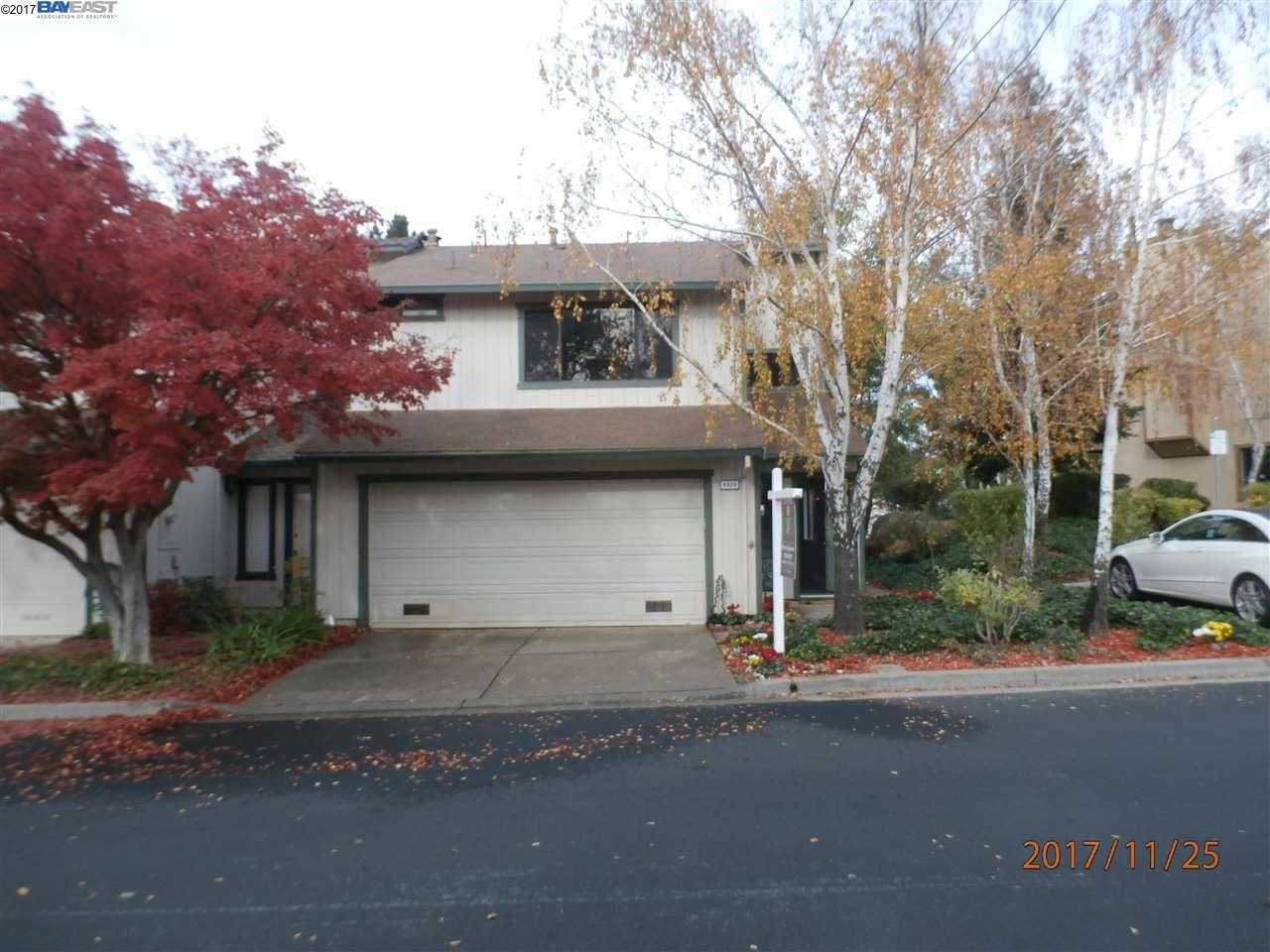 Maison accolée pour l Vente à 4826 STARFLOWER Drive 4826 STARFLOWER Drive Martinez, Californie 94553 États-Unis