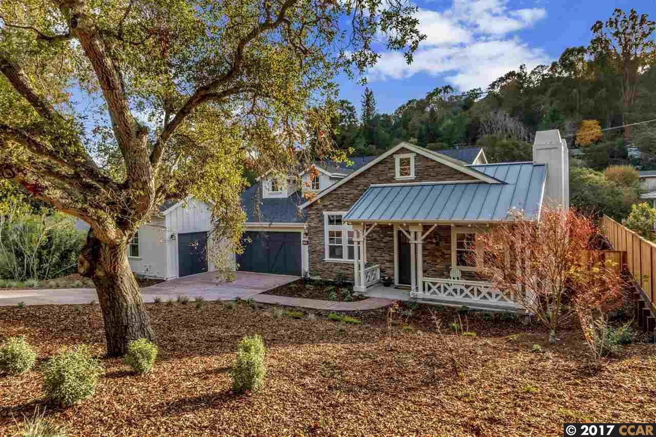 Einfamilienhaus für Verkauf beim 120 Sleepy Hollow Lane 120 Sleepy Hollow Lane Orinda, Kalifornien 94563 Vereinigte Staaten