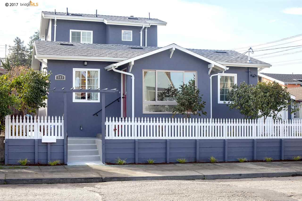 589 56Th St | OAKLAND | 1200 | 94609