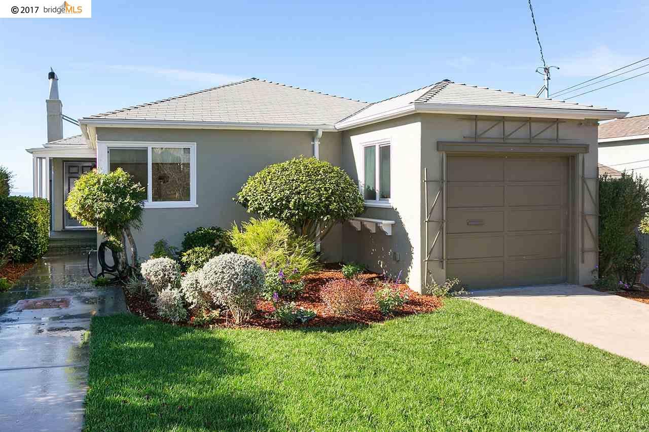 Частный односемейный дом для того Продажа на 234 Cambridge Avenue 234 Cambridge Avenue Kensington, Калифорния 94708 Соединенные Штаты