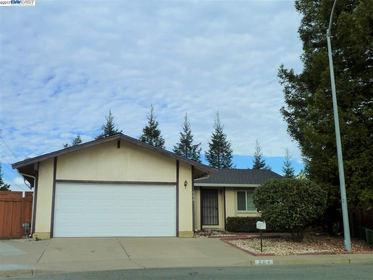 واحد منزل الأسرة للـ Rent في 304 Klamath Court 304 Klamath Court Martinez, California 94553 United States