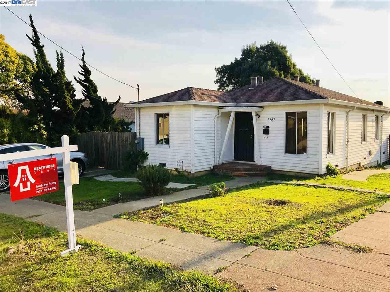 一戸建て のために 売買 アット 1401 Santa Clara 1401 Santa Clara Richmond, カリフォルニア 94804 アメリカ合衆国