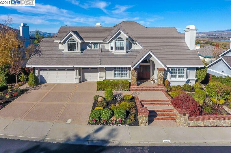 Single Family Home for Sale at 2809 Victoria Ridge Court 2809 Victoria Ridge Court Pleasanton, California 94566 United States