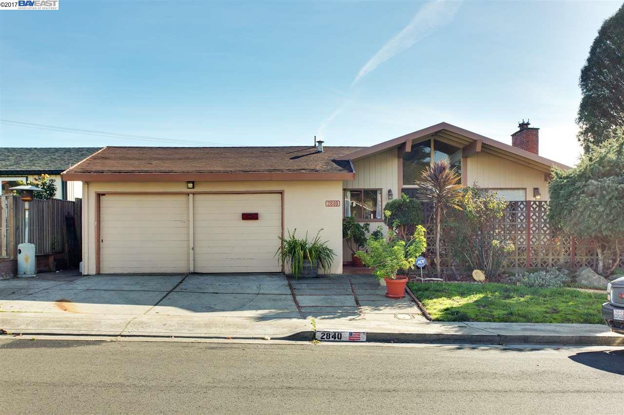 واحد منزل الأسرة للـ Sale في 2840 Gonzaga Avenue 2840 Gonzaga Avenue San Pablo, California 94806 United States