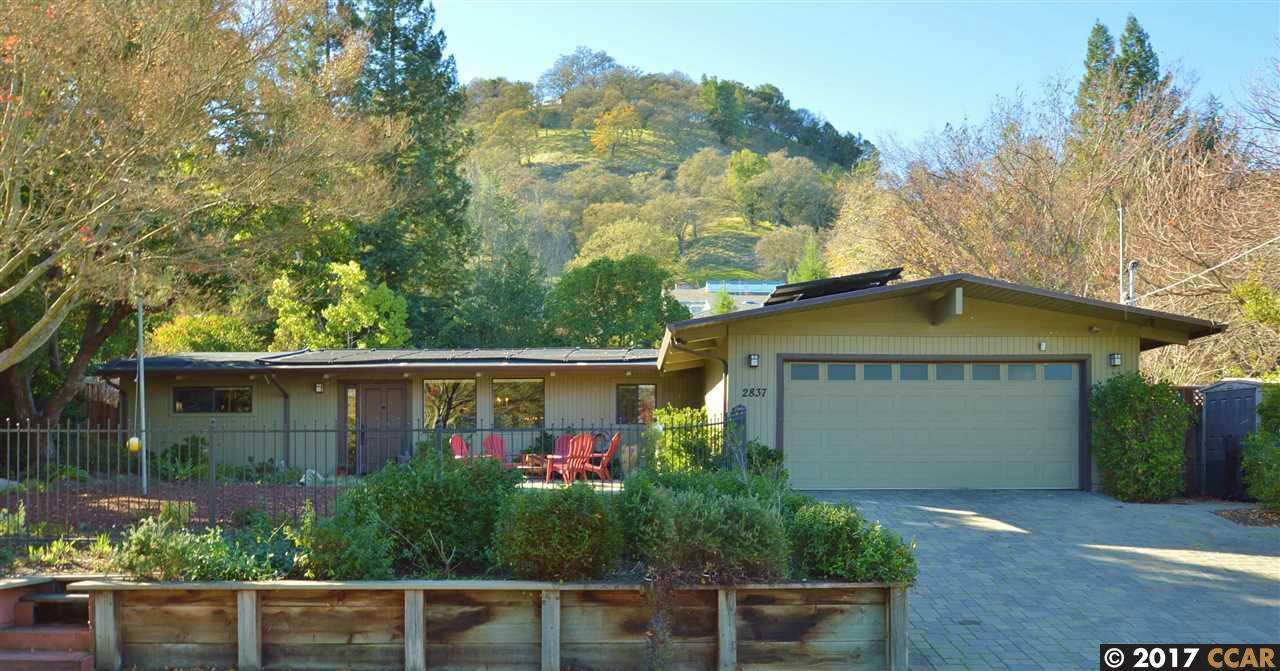 獨棟家庭住宅 為 出售 在 2837 Litina Court 2837 Litina Court Alamo, 加利福尼亞州 94507 美國