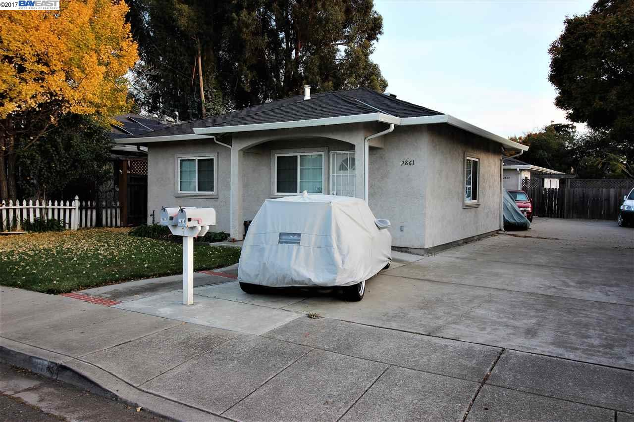 Multi-Family Home for Sale at 2859 Greenview Drive 2859 Greenview Drive Castro Valley, California 94546 United States