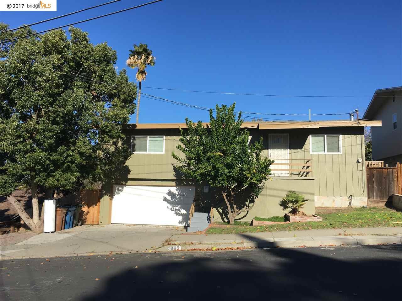 Частный односемейный дом для того Продажа на 405 Lynn Avenue 405 Lynn Avenue Antioch, Калифорния 94509 Соединенные Штаты