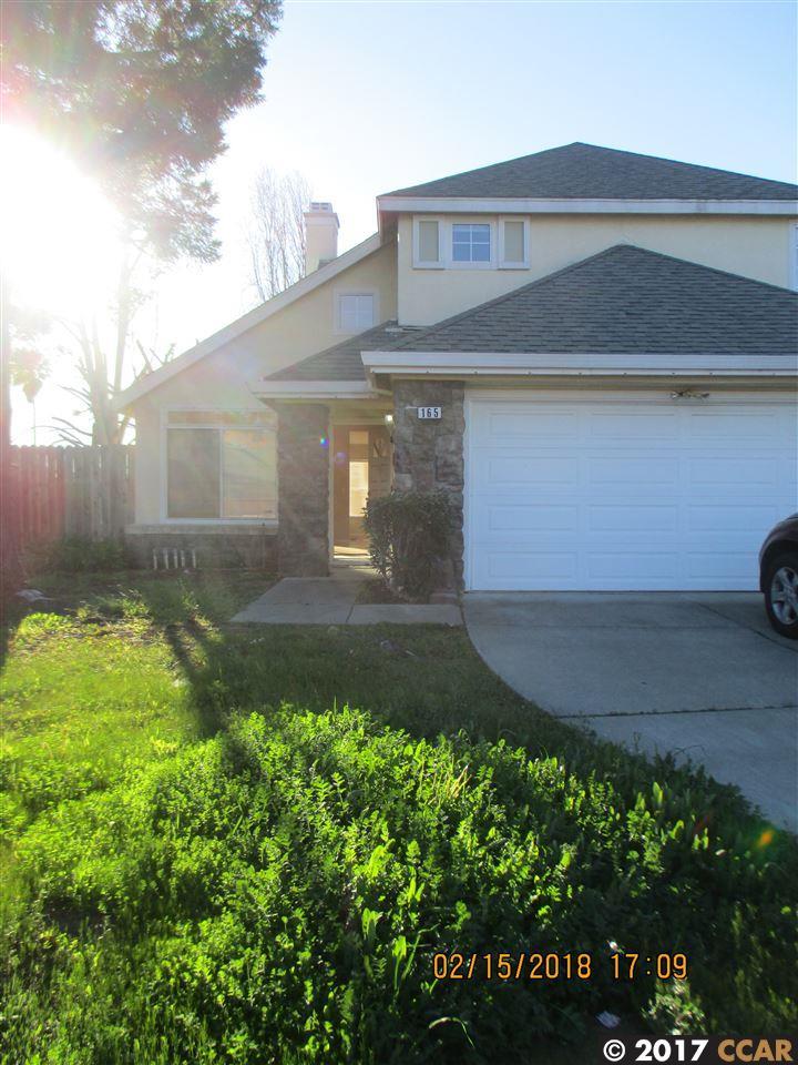 Casa Unifamiliar por un Alquiler en 165 Arabian Court 165 Arabian Court Vallejo, California 94589 Estados Unidos