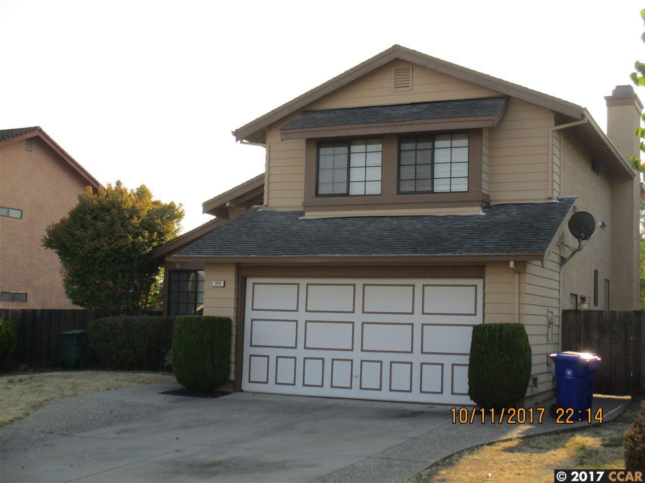 Maison unifamiliale pour l à louer à 375 Turquoise Drive 375 Turquoise Drive Hercules, Californie 94547 États-Unis