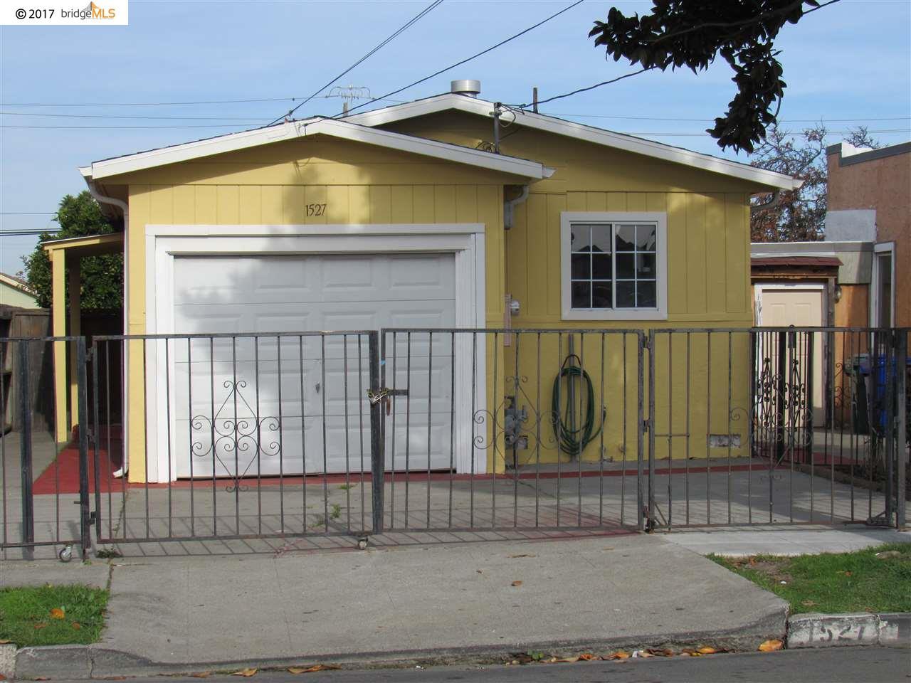 واحد منزل الأسرة للـ Sale في 1527 Emeric Avenue 1527 Emeric Avenue San Pablo, California 94806 United States