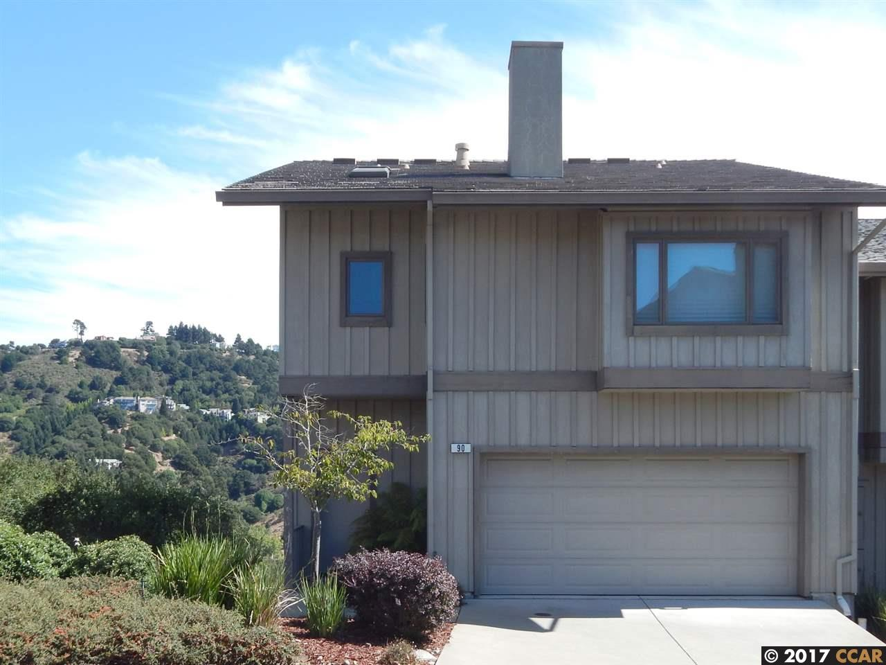 Townhouse for Sale at 90 Starview Drive 90 Starview Drive Oakland, California 94618 United States