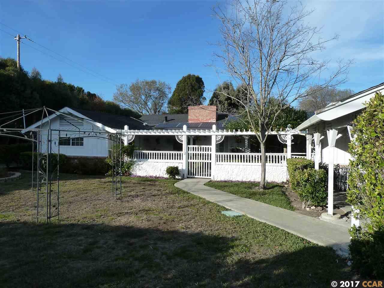 一戸建て のために 売買 アット 1832 Sunnyvale Avenue 1832 Sunnyvale Avenue Walnut Creek, カリフォルニア 94597 アメリカ合衆国