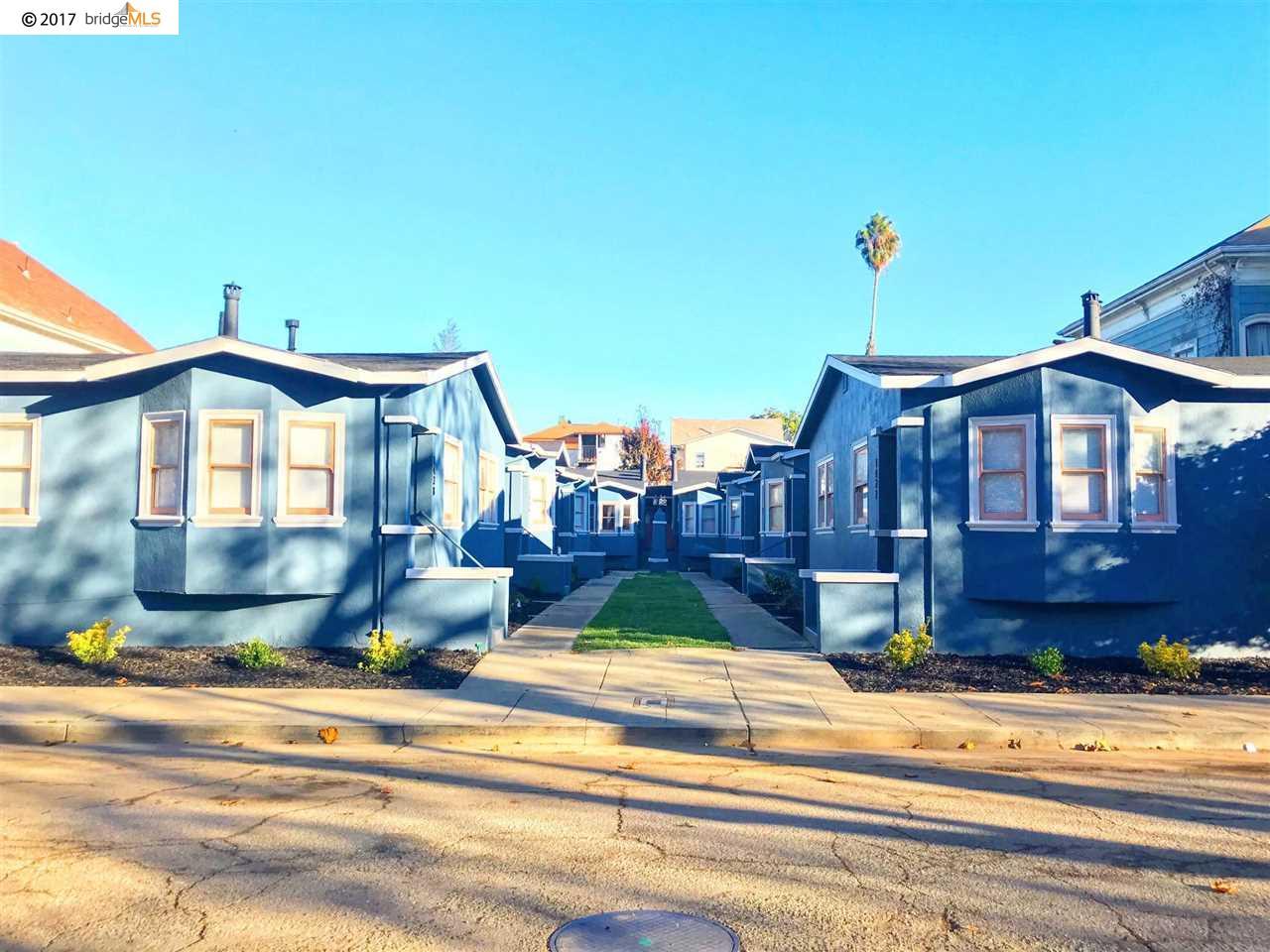 Многосемейный дом для того Продажа на 1438 Chestnut Street 1438 Chestnut Street Oakland, Калифорния 94607 Соединенные Штаты