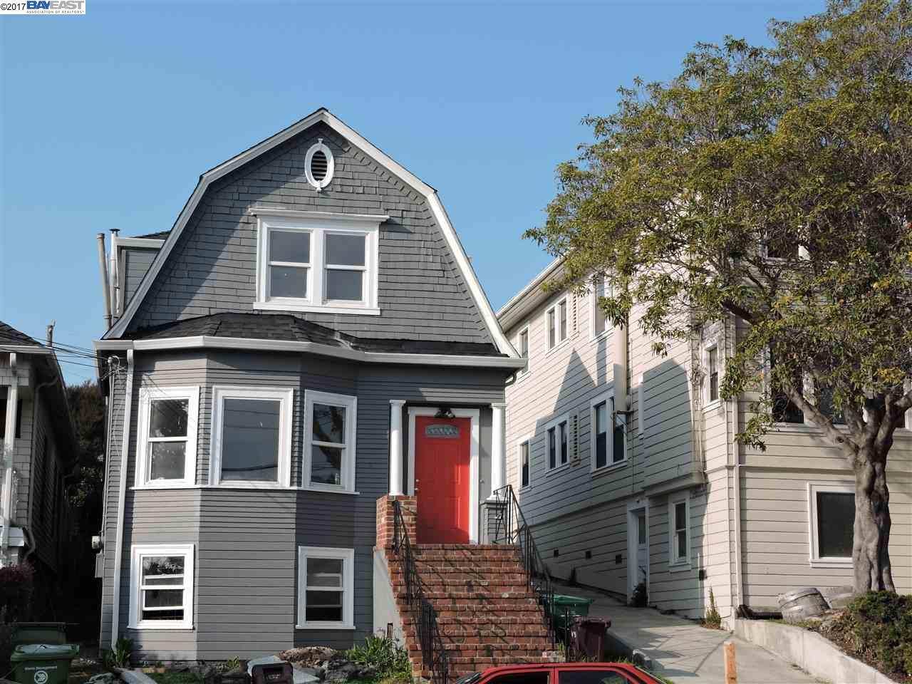 多戶家庭房屋 為 出售 在 4373 Howe Street 4373 Howe Street Oakland, 加利福尼亞州 94611 美國