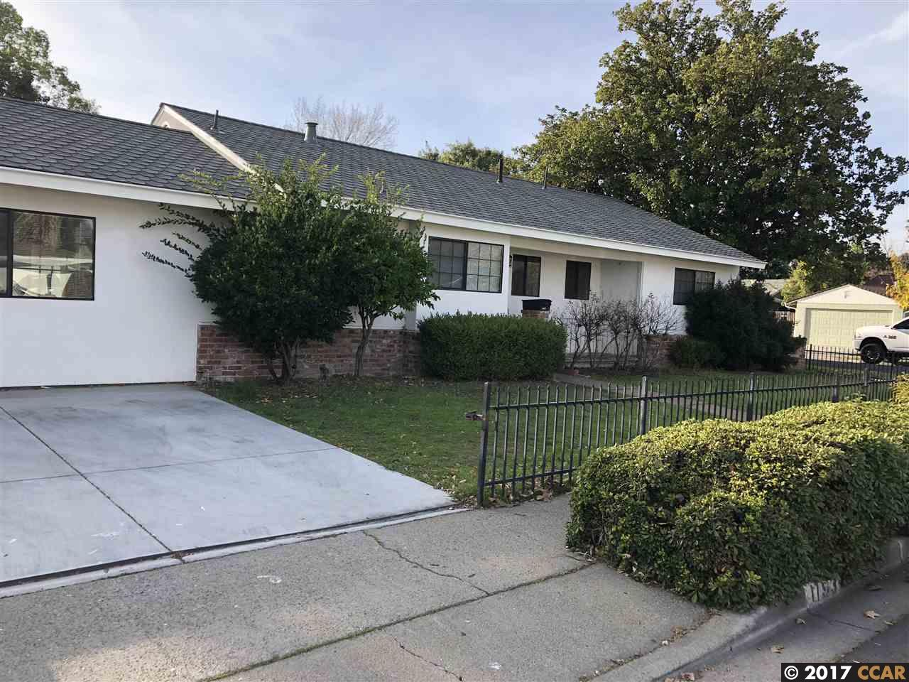 Single Family Home for Rent at 1193 Tilson Drive 1193 Tilson Drive Concord, California 94520 United States
