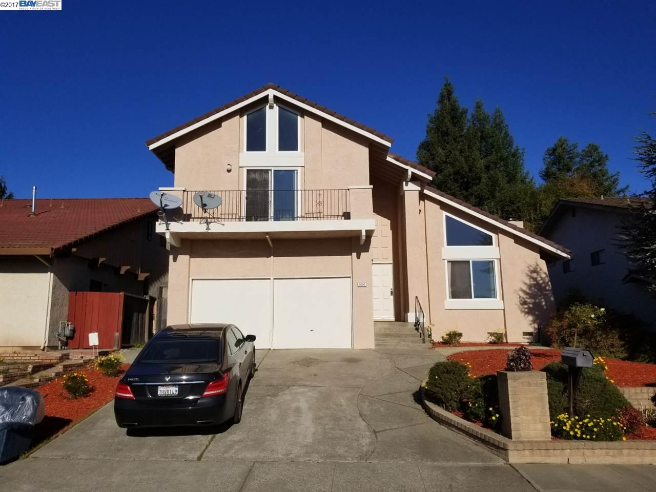Single Family Home for Sale at 3000 Todd Court 3000 Todd Court Castro Valley, California 94546 United States