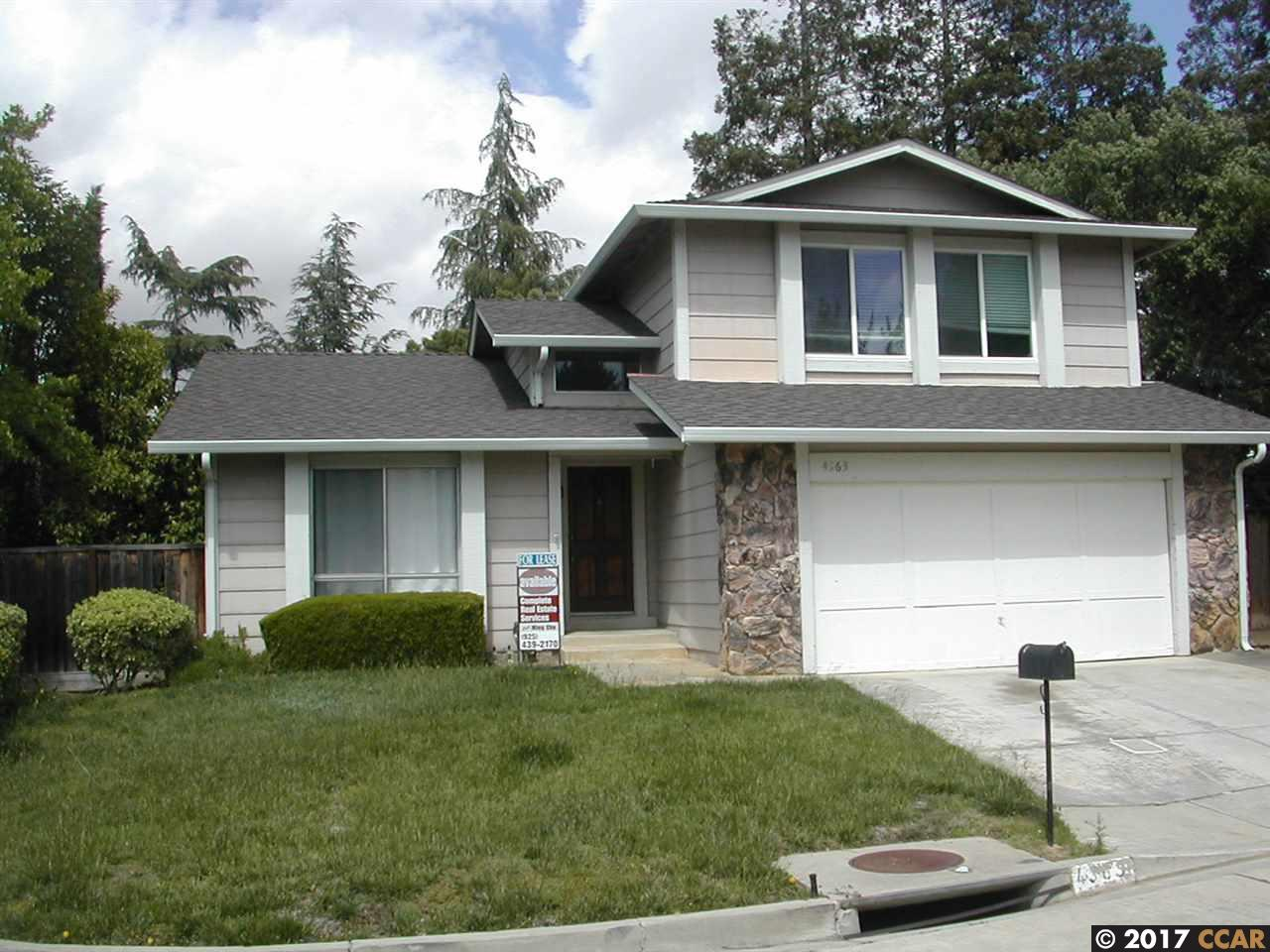 Single Family Home for Rent at 4363 KEARSARGE Court 4363 KEARSARGE Court Concord, California 94518 United States