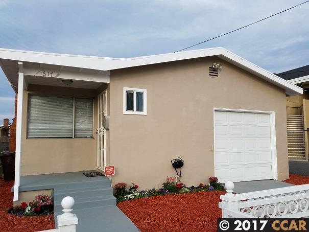 Casa Unifamiliar por un Venta en 617 Florida Avenue 617 Florida Avenue Richmond, California 94804 Estados Unidos