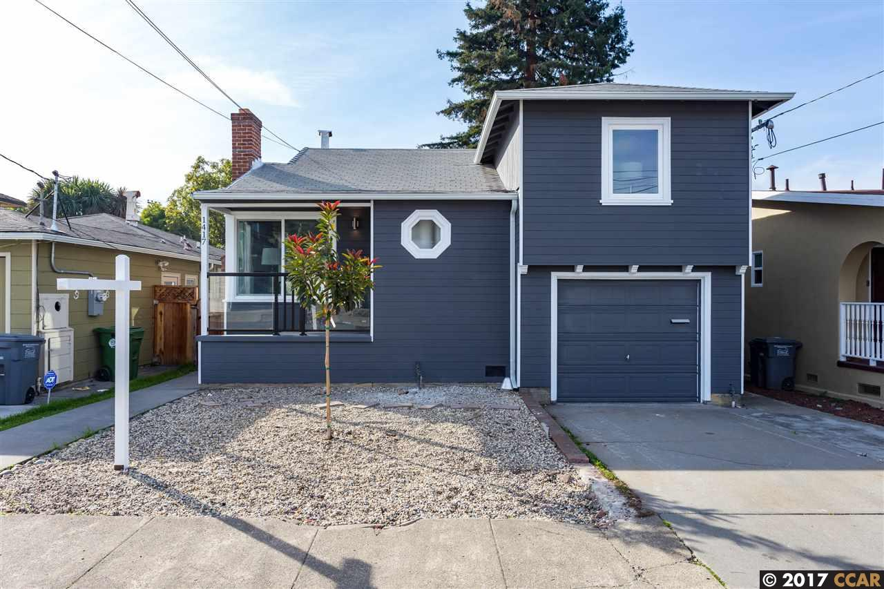 Casa Unifamiliar por un Venta en 1417 Richmond Street 1417 Richmond Street El Cerrito, California 94530 Estados Unidos