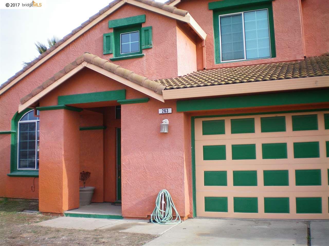 واحد منزل الأسرة للـ Rent في 263 Avalon Circle 263 Avalon Circle Pittsburg, California 94565 United States