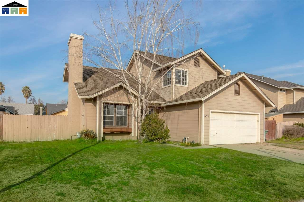 Single Family Home for Sale at 633 Sunflower Drive 633 Sunflower Drive Lathrop, California 95330 United States