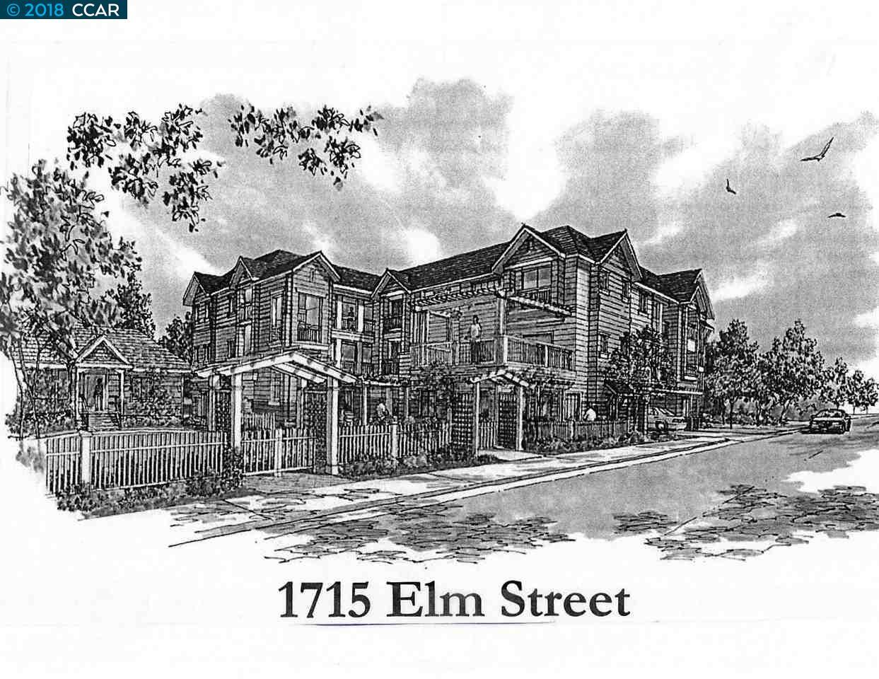 土地 為 出售 在 1715 Elm Street 1715 Elm Street El Cerrito, 加利福尼亞州 94530 美國