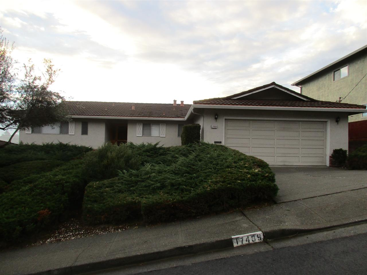 Single Family Home for Sale at 17489 Kingston 17489 Kingston Castro Valley, California 94546 United States