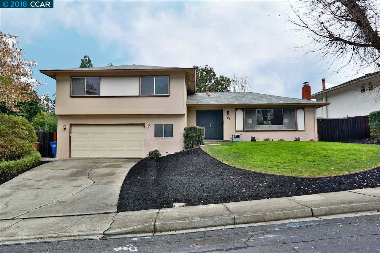 Maison unifamiliale pour l Vente à 96 Dublin Drive 96 Dublin Drive Pleasant Hill, Californie 94523 États-Unis