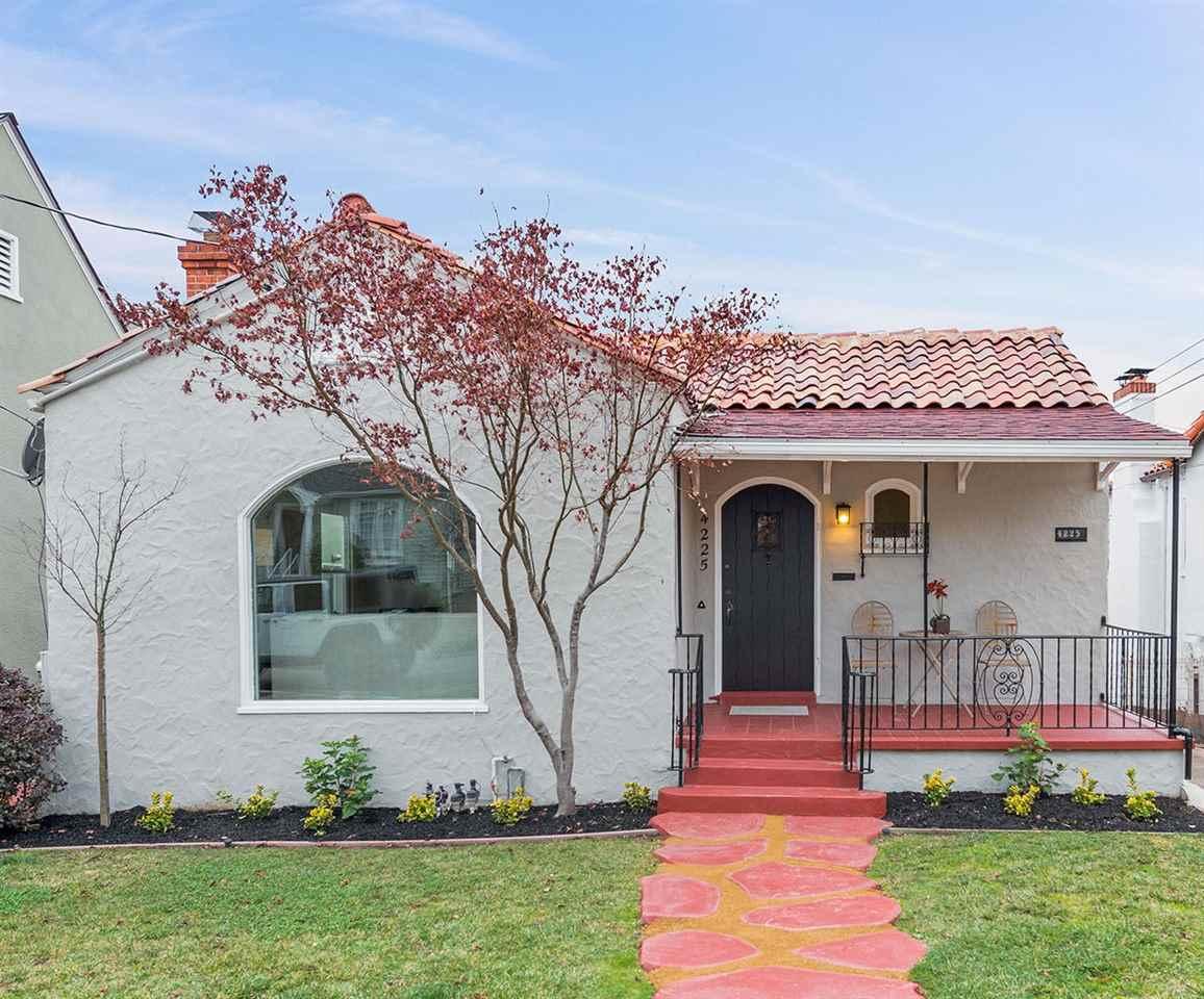 Single Family Home for Sale at 4225 Detroit Avenue 4225 Detroit Avenue Oakland, California 94619 United States