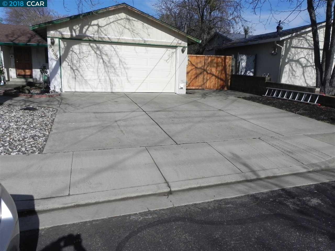 واحد منزل الأسرة للـ Rent في 5505 Arizona Drive 5505 Arizona Drive Concord, California 94521 United States