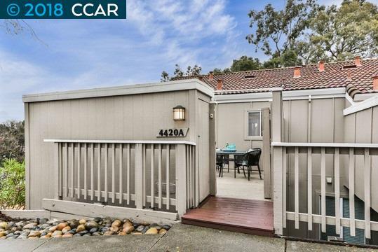 Maison accolée pour l Vente à 4420 Eagle Peak Road 4420 Eagle Peak Road Concord, Californie 94521 États-Unis