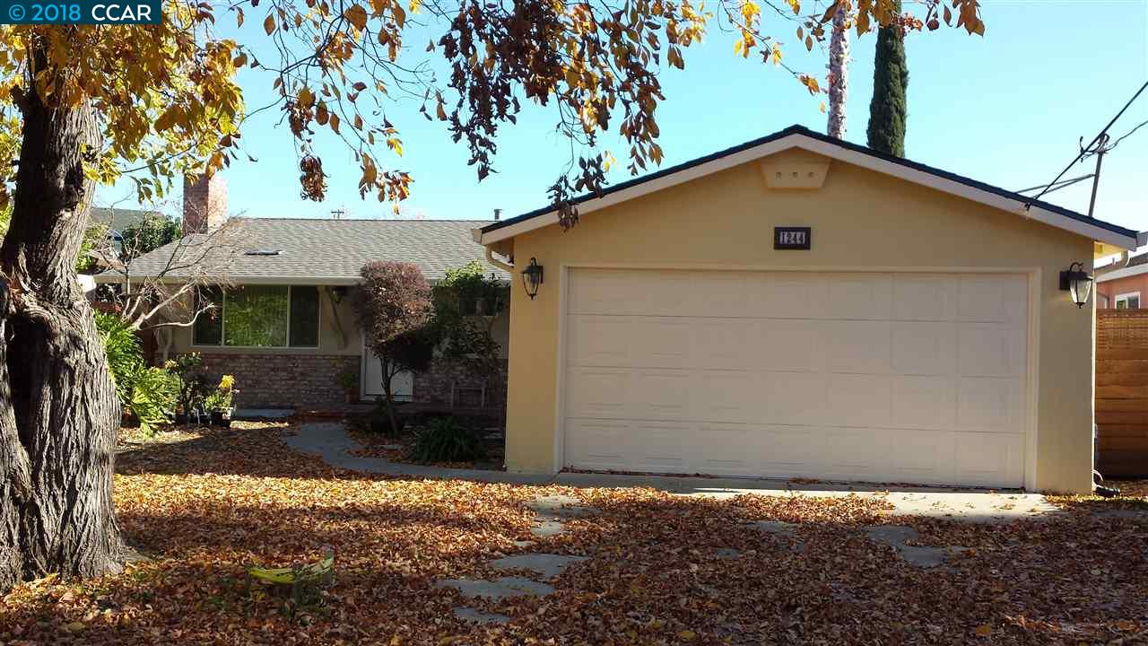 Single Family Home for Rent at 1244 Redwood Drive 1244 Redwood Drive Concord, California 94520 United States