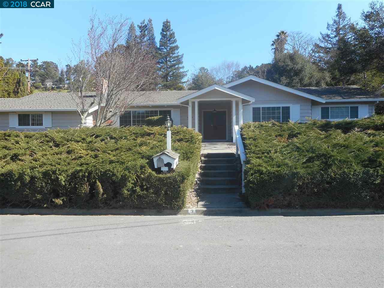 واحد منزل الأسرة للـ Rent في 3 Chelton Court 3 Chelton Court Orinda, California 94563 United States