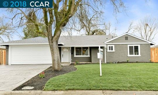 獨棟家庭住宅 為 出售 在 185 Doris Drive 185 Doris Drive Pleasant Hill, 加利福尼亞州 94549 美國