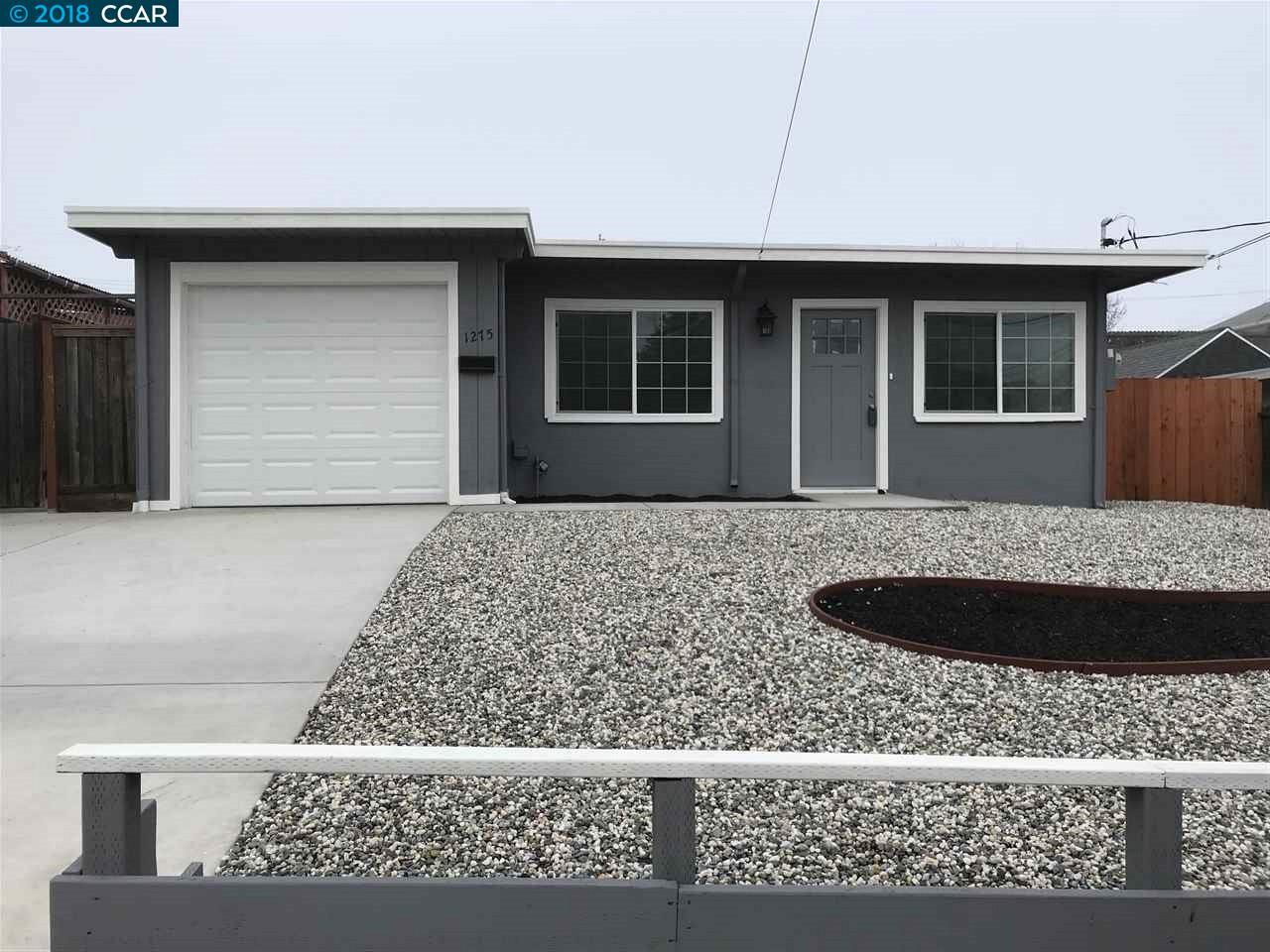 一戸建て のために 売買 アット 1275 Frances 1275 Frances San Pablo, カリフォルニア 94806 アメリカ合衆国