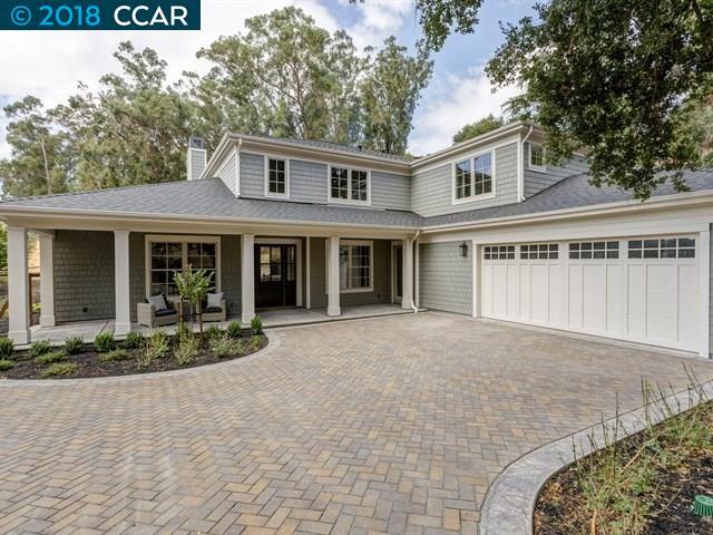 Maison unifamiliale pour l Vente à 1601 Reliez Valley Road 1601 Reliez Valley Road Lafayette, Californie 94549 États-Unis