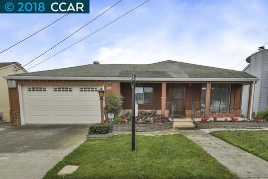 Частный односемейный дом для того Продажа на 1408 Via Lucas 1408 Via Lucas San Lorenzo, Калифорния 94580 Соединенные Штаты