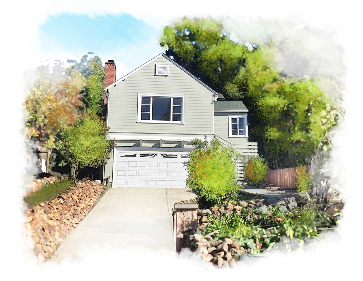Single Family Home for Sale at 3300 Guido Street 3300 Guido Street Oakland, California 94602 United States